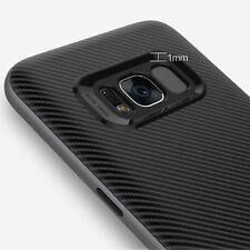 Cover + Vetro Temperato Curvo 3D Samsung S8+ Plus Spessa Bumper Antiurto Bundle