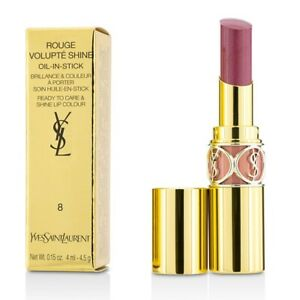 Yves Saint Laurent Rouge Volupte Shine - # 8 Pink In Confidence/ Pink 3.2g