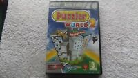 PUZZLER WORLD 2 PC DVD-ROM NEW SEALED FAST POST ( over 1200 new puzzles )