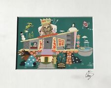 EL GATO GOMEZ RETRO TV PEE-WEE HERMAN PEE WEE'S PLAYHOUSE TV POP ART GEEK PRINT
