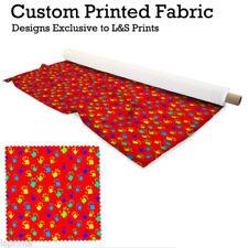 Telas y tejidos color principal rojo de tela por metros de poliéster para costura y mercería