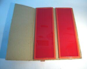 Thomas 2x (Pair)  Duplex Sodium Safe light Photographic/mint condition ----M11