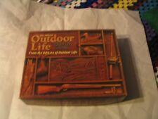 Vintage Outdoor Life Trivia Game ages 8 - 108 L00k