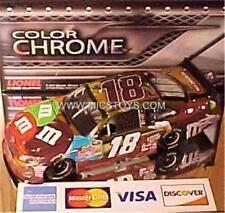 NEW RARE Gen5 2012 Kyle Busch #18 Color Chrome Ms Brown MMs Platinum 1:24 Action