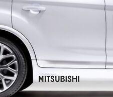 2x Side Skirt Stickers Mitsubishi Galant Premium Qaulity Graphics Decals VL52