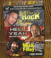 WWF - Ringleaders Collection (DVD, 200O2) The Rock Stone Cold Mick Foley NEW