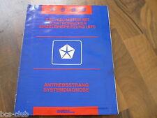 #J021 CHRYSLER 1993 ALLE MODELLE MOTOR 2,5 4,0 SFI Diagnose WERKSTATT HANDBUCH