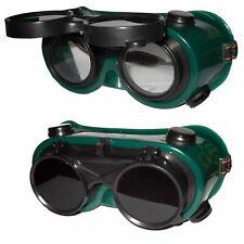 Occhiali Di Protezione Protettivi Per Saldare Saldatura Doppia Lente Fabbro dfh