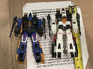 Transformers Earthrise Dirge & Ramjet Amazon Voyager Class Lot Seekers Classics