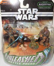 Star war UNLEASHED,Yoda,Chewbacc,Captain Tarffu,Aavlal S yr.2005 ACTION  FIGURE