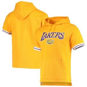 Mitchell & Ness NBA Youth Boys (8-20) Los Angeles Lakers S/S French Terry Hoodie