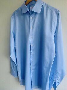 Thomas Pink Shirt In blue Stripe