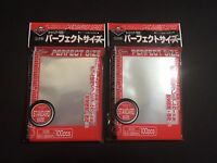 2x KMC Perfect Fit / Size Sleeves - 100 Count - MTG Magic Gathering Pokemon
