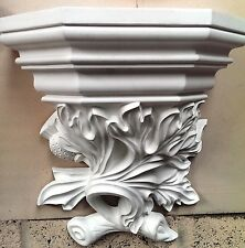 Ornate Victorian Wall Corbel Display Plaster Hanging Bracket Plaque Shelf CR2