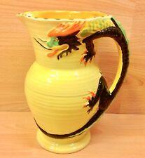 """Burleigh Ware """"Dragon"""" Handle Jug 7013."""
