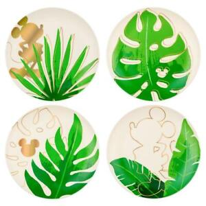 Disney Mickey Mouse Tropical Plate Set