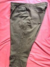 Pantalon Bordado Lasserre  T16 (UK) color chocolate