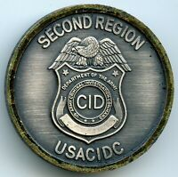 US Army Criminal Investigation Division Command Second Region Challenge Coin