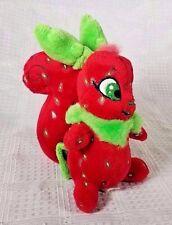 "2008 Neopets Strawberry Usul Squirrel Bunny Plush w/o Hangtag 5"""