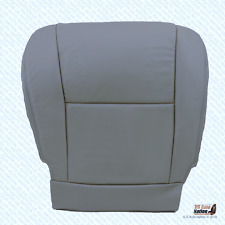 2005 2006 2007 Toyota Tundra Driver Side Bottom Leather Seat Cover Color Gray