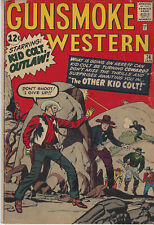 1963 Newsstand Publications Gunsmoke Western V 1 No 74