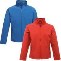 Regatta Mens Classic 3 Layer Softshell Jacket - Water Repellent | Wind Resistant