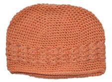 Kufi Hat Crochet Cap Beanie Peach