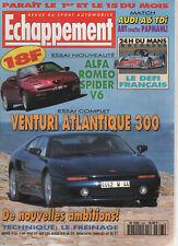 ECHAPPEMENT 323 1995 VENTURI 300 ATLANTIQUE ALFA ROMEO SPIDER V6 24H DU MANS