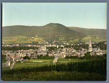 Ahrtal. Bad Neuenahr. PZ vintage photochromie, Deutschland photochromie, vinta