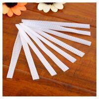 100 pcs Make Up Brush Pen Netting Cover Mesh Sheath Protectors Guards Prote D1M6