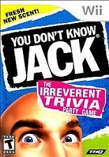 Nintendo Wii : You Dont Know Jack VideoGames
