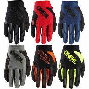 O'Neal Element Gloves 2020 MTB Mountain Bike Enduro Full Finger Protection New