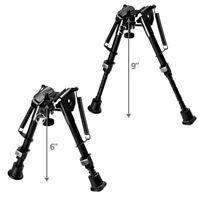 "Universal Bipod 6/9""Adjustable Spring Harris Metal Sling Swivel 4 Rifle Hunting"
