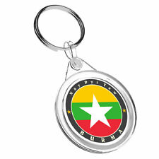 1 x Burma Naypyitaw Big Star - Keyring IR02 Mum Dad Kid Birthday Gift #5635