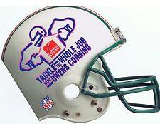 NFL Football Advertising 1996 Owens Corning Insulation Helmet Team Gear Brochure