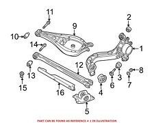 For BMW Genuine Suspension Trailing Arm Rear Right 33322229686