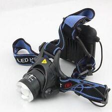 New CREE XML T6 LED Outdoor Fishing Headlamp Cycling Bike Headlight 4*AA Battery