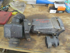NISSAN 300 ZX Z31 Air Cleaner ASSEMBLY NON TURBO 84-87 300ZX BOOTS BOX BRACKETS