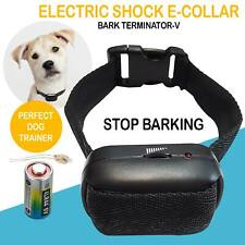 Electric Collar Dog Shock Collar Training Bark E-Collar For Small Large Big Dogs