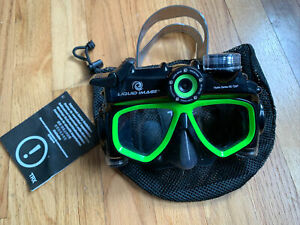 Liquid Image Hydra 305 Action camera scuba mask Series 720p 12MP New Other