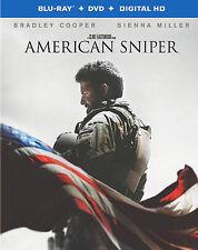 American Sniper (Blu-ray + DVD + Digital HD UltraViolet Combo Pack) DVD, Keir O'