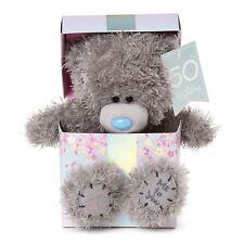 Me to You 50th Birthday Tatty Teddy Bear in Gift Box