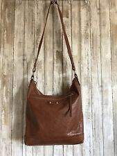 BALENCIAGA Arena Men's Brown Leather Day Messenger Crossbody Weekender Bag RARE!