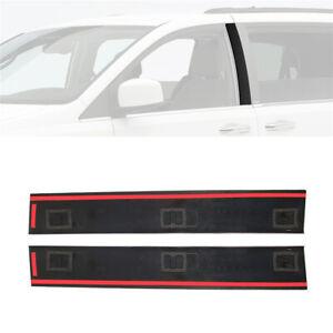 For Chrysler Town Dodge Grand Caravan Front Left & Right B Pillar Molding Trim