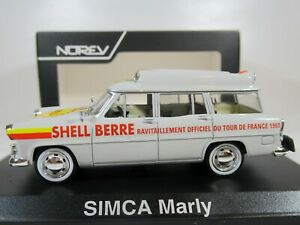NOREV, 1:43 scale SIMCA VEDETTE MARLY, SHELL FUEL for 1960 TOUR DE FRANCE 574053