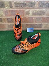PUMA FUTURE 2.3 NETFIT FG FOOTBALL BOOTS - ORANGE / BLACK - SIZE UK 7.5