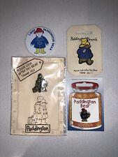 Lot Of 4 Paddington Bear Brooches / Pins