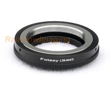 Adjustable Leica M39 39mm Lens MFT M43 Adapter Panasonic G10 GF1 GF2 GF3 GF5 GX1