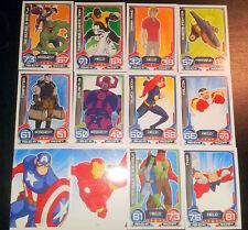 Hero Attax 2014  12 Sammelkarten Trading Cards Topps Marvel A2