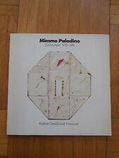 MIMMO PALADINO. zeichnungen 1976 -1981. catalogue d'exposition, Hannover 1981